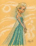Elsa in COLOR by tombancroft