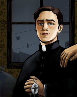 Father Charles by Clishame