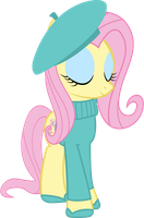 French Fluttershy by cool77778