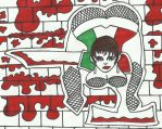 Chicana Loca [Sharpie Latina Edition] by LudeMagik