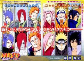Naruto 442 cover - color by Thecmelion