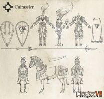 Haven Cuirassier (Heroes of Might and Magic VII) by m0zch0ps
