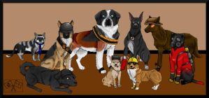 TF2 Mutts by Emileech