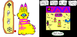 VIRTUAL PET by tech-impaired-anubis