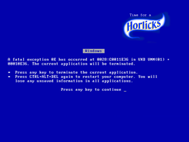 Horlicks by ajuk