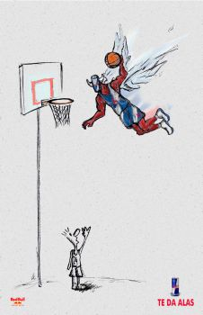 Winged Red Bull Dunk by ceabr12