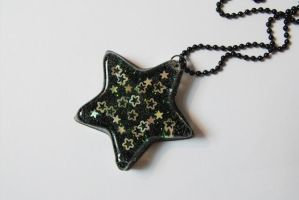 Black and Green Rock Star by 2littleKisses