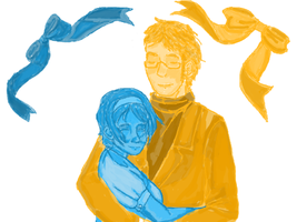 SweUkr: Blue and Yellow by sweetsnow73