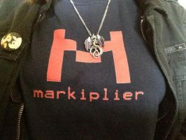 markiplier shirt by werewolfatnight