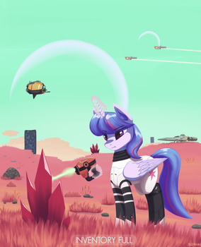 No Pony's Sky by MrScroup
