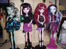 My First Monster High Dolls. by Pink-chi