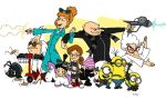 One Big Despicable Family by jbwarner86