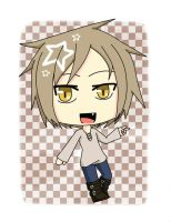 .:: REQUEST ::. Chibi Kano _ Kagerou Project by SuzuneRei