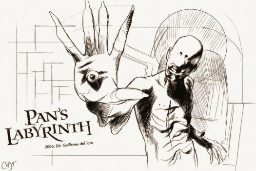 31 Days of Horror: Pan's Labyrinth by Deimos-Remus