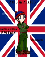 South Park WWII Stan Britain by SouthParkPhilosopher