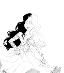More Ivy Lineart by BootifulRoses