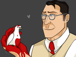 A Doctor and his Bird. by Sayerim