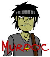 Murdoc by FaBrIzIoTheKick-Ass