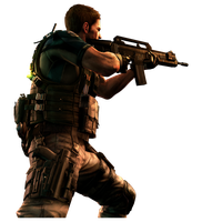 Survivors Chris Redfield by American-Paladin