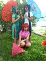 Umbrella Vocaloid by Lupis2000
