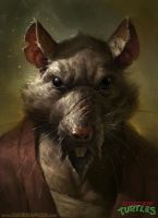 Splinter by DavidRapozaArt