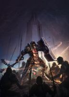 Crusader's stand - Diablo 3 contest by Mihaici