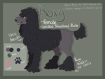 Roxy Reference Sheet 2015 by PinkPoodle543