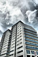 Apartment block by spr33