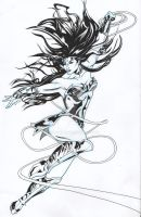 Wonder Woman Inks by RadPencils