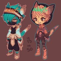 Adopts: yes cats (closed) by faluu