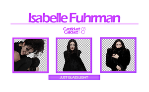 ||Isabelle Fuhrman|| PNG by JustGlassLight