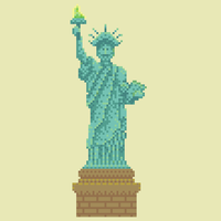 Statue of Liberty by hivernoir