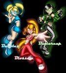 Powerpuff Girls - Teen Colors by What-the-Gaff