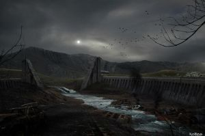 Silent Concrete by noro8