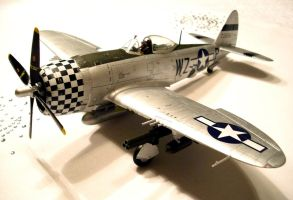 P-47D Finished 1 by SindreAHN