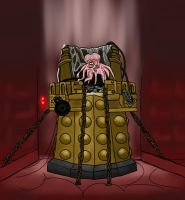 Insane Dalek Caan by jinkies36