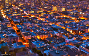 San Francisco Tilt-shift by AlbinoGrimby