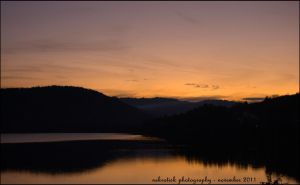 titisee sunset by somna-ARTifacts
