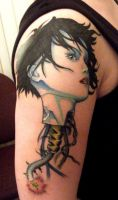 Ghost in the Shell tattoo by Romantist-Egoist