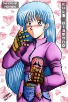 Kula Diamond Eats PORINGLES by WolfHyde