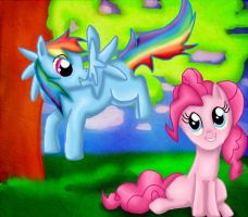 +Dashy and Pinkie+ by PhotographicCrypto