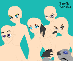 Base: A Group of Duelists by JoyKaiba