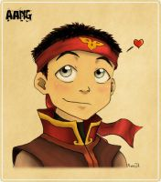 .: Aang Love :. by xblackrose137x