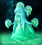 Slime Princess by disturbedface