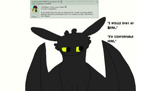Ask Toothless 53: (Gift of the Nightfury question) by Ask--Toothless