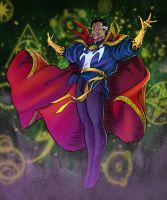 Doctor Strange By Mattjamescomicarts by SpiderGuile