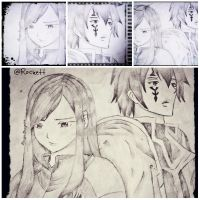 Jellal and Erza Collab by CherryPotter23