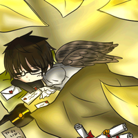 Resting delivery fairy [Gif] by angiecake66