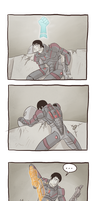 Mass Effect 3  ''Grab +1'' by RandomFellow
