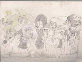 O.C Characters by PRJC1116